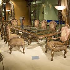 11 Piece Dining Room Set Benetti39s Italia Regalia 11 Piece Luxury Dining Set