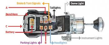 wiring diagram for 1956 ford headlight switch readingrat net Chevy Headlight Wiring Diagram 1956 chevy bel air dash and rear lights hot rod network,wiring diagram chevy headlight wiring diagram 1976 camaro