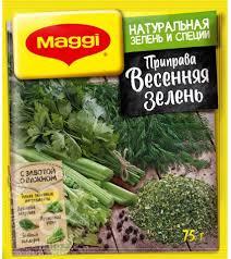 Купить <b>Приправа</b> Maggi Весенняя <b>зелень</b> 75г с доставкой на дом ...