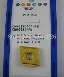 ZCC.CT 10P <b>CNMG120404</b>-PM YBC251 CNC <b>Carbide Insert</b> ...