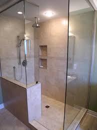 design walk shower designs: antique classic walk and shower for shower bathroom design ideas walk and shower ideas bathrooms designs