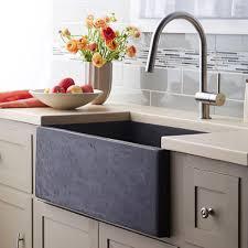 apron farmhouse kitchen sink brick