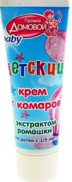 <b>Средство</b> от комаров <b>Домовой</b> Л-037 крем с экстрактом ромашки ...