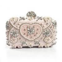 Wholesale <b>Handmade Pearl</b> Crystal <b>Bag</b> for Resale - Group Buy ...