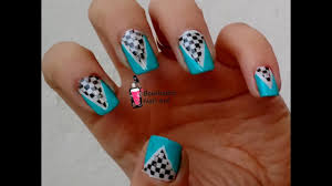 <b>Cool Nail Art</b> with Reverse <b>Stamping</b> and Striping Tape - YouTube