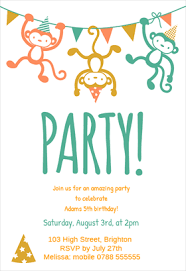 Childrens Party - Free Printable Birthday Invitation Template ... Childrens Party - Printable Birthday Invitation Template