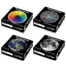 Earth <b>Star</b> Space круглые Пазлы 1000 штук Красочные радужные ...