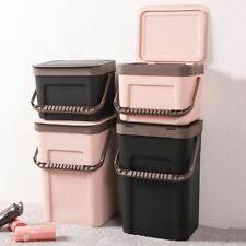 Коричневый <b>пластик</b> бытовые <b>мусорные баки</b> и корзины для ...