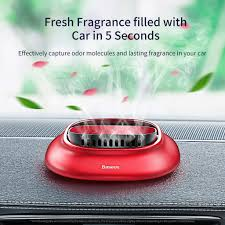 <b>Baseus</b> Volcano Car seatNew Vehicle Air Freshener <b>Metal Round</b> ...