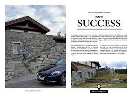 my volvo magazine on behance thank you