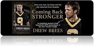 Coming Back Stronger by Drew Brees | Covered Law Enforcement via Relatably.com