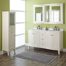 bathroom modern vanity designs double curvy set:  palmetto creamy white double vanity set bathroom complementing this vanitys charming beadboard detailing are elegant