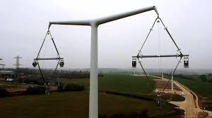 First <b>new</b> pylon type constructed - BBC News
