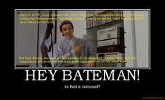 American Psycho on Pinterest | Christian Bale, Meme and Fight Club ...