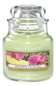 <b>Ароматическая свеча Pineapple</b> Cilantro Yankee Candle купить ...