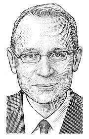 Robert Thomson, WSJ woodcut. CEO: Robert Thompson (ex WSJ editor-in-chief). CFO: Bedi Ajay Singh (ex MGM Studios); CTO: Paul Cheesbrough ... - robert-thomson-d8-graphic-o