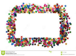 celebration stars frame stock photo image  celebration stars frame