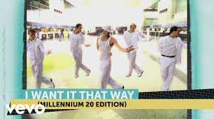 <b>Backstreet Boys</b> - I Want It That Way (<b>Millennium</b> 20 Edition) - YouTube