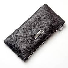 <b>Baellerry</b> business luxury <b>men's</b> male clutch <b>wallets genuine</b> leather ...