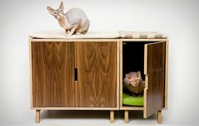 modern cat furniture and litter box cover this modern cat furniture and litter box cover has been designed with style and functionality in mind cat modern furniture