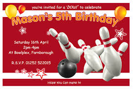 bowling party invitations net bowling birthday party invitations party invitations