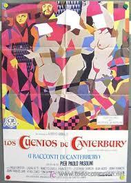 Resultado de imagen de Cuentos de Canterbury de Pasolini