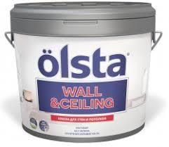 <b>Olsta Wall Ceiling</b>, цена - купить <b>краску</b> акриловую для стен и ...