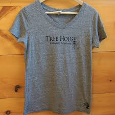 <b>Women's</b> Gray <b>Tree</b> House <b>Tee</b> — <b>Tree</b> House Brewing Co.
