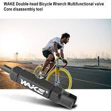 Easy-life WAKE <b>Double</b>-<b>head Bicycle</b> Wrench Multifunctional <b>valve</b> ...