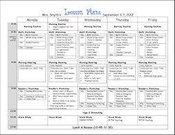 daily lesson plan template word best agenda templates teacher lesson plan template