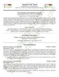 teachers resume samples to get hired easily resume samples 2017 view page two of this math teacher resume samples free