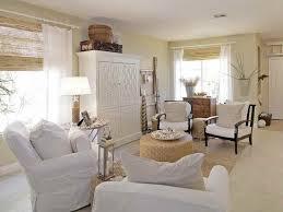 charming white coastal cottage beach house living room with slipcovered coastal decorating ideas living room beach house decor coastal