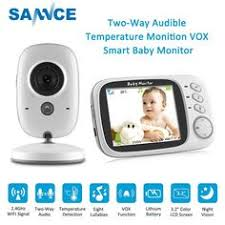 2.4G Baby <b>Monitor</b> Digital Camera Two Way Audio <b>3.5</b>'' <b>LCD</b> smart ...