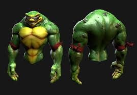 ArtStation - <b>Battletoads</b>- <b>Rash</b> 3D redesign, Sam Chester | Concept ...