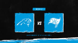 How to watch, listen and follow: Carolina vs. Tampa Bay in Week 2