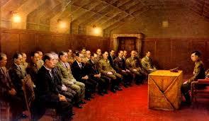 「1941年 - 第二次世界大戦: 御前会議で、ハル・ノートによるアメリカの要求は受け入れられないとして対米英開戦を決定。」の画像検索結果