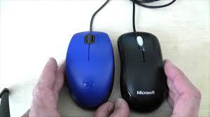 Vergleich <b>Logitech</b> M110 <b>silent</b> vs Microsoft Basic Mouse - YouTube