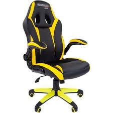 <b>Chairman game 15</b> Black-Yellow купить игровое <b>кресло</b> Chairman ...