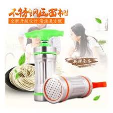 <b>RSCHEF</b> 1 pcs Manual stainless steel presser with a small noodle ...