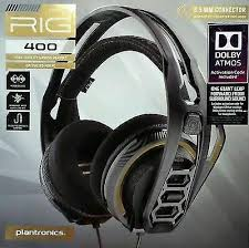 <b>Plantronics Rig 400 Dolby</b> Atmos Gaming Headset for sale online ...