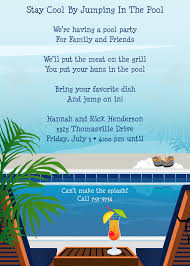 th birthday pool party invitation wording custom invitations birthday pool party invitation wording pascalgoespop com