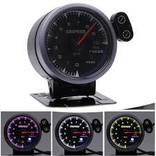 (Sponsored eBay) Universal <b>60mm</b> Car <b>Oil</b> Press Pressure Gauge ...