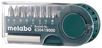 <b>Набор бит Metabo 630419000</b> (9 предм.) — купить по выгодной ...