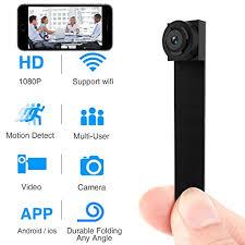 Spy Hidden Camera, <b>Wireless</b> Wi-Fi <b>Mini</b> Camera 1080P APP ...