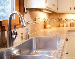 countertops popular options today:  kitchen countertop replacement design decoration with granite material with modern cabinet excellent kitchen