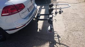 Велокрепление на фаркоп для <b>2</b>-<b>х велосипедов</b> Westfalia