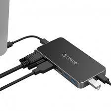 <b>ORICO</b> 8in1 <b>Type</b>-<b>C</b> Multifunction VGA HDMI DP USB3.0 <b>USB</b>-<b>C</b> PD ...
