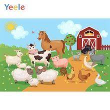 <b>Yeele Rural Farm Birthday</b> Party Animal Portrait Baby Cartoon Photo ...