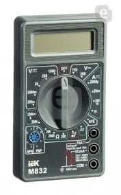 <b>Мультиметр IEK Universal</b> M832 <b>цифровой</b> — купить по выгодной ...