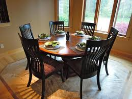 Contemporary Round Dining Table For 6 Round Dining Table For Home Furniture Plan